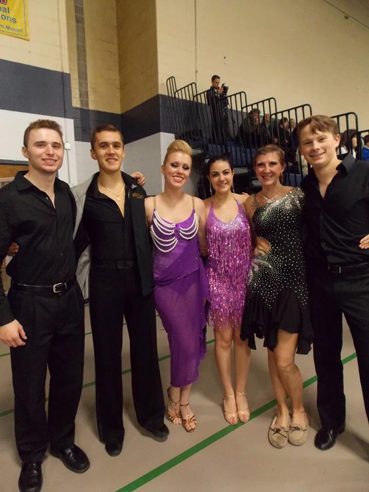 collegiate ballroom dancing
