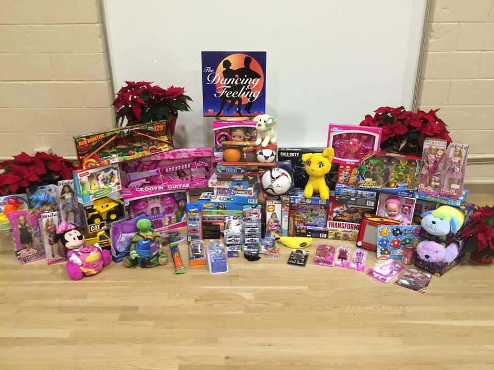 Toys For Tots Collection : Toys for tots the dancing feeling