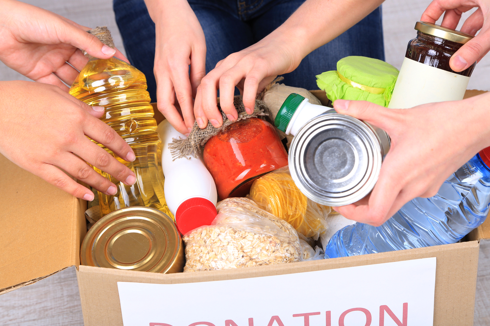 Ballroom Dance Studio RI Community Food Bank Donation